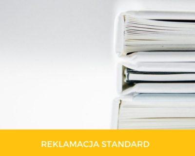 produkt - reklamacja standard
